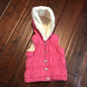 Baby girl winter vest ❄️